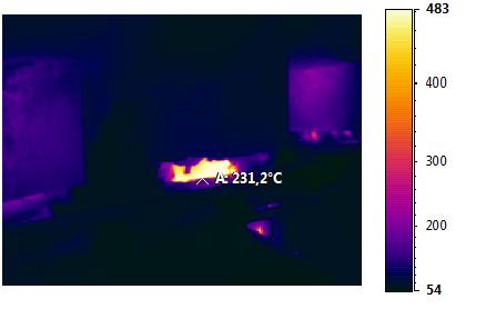 analisi termografiche sala macchine